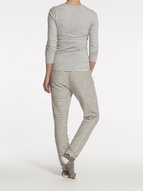 Knit Henley L/S
