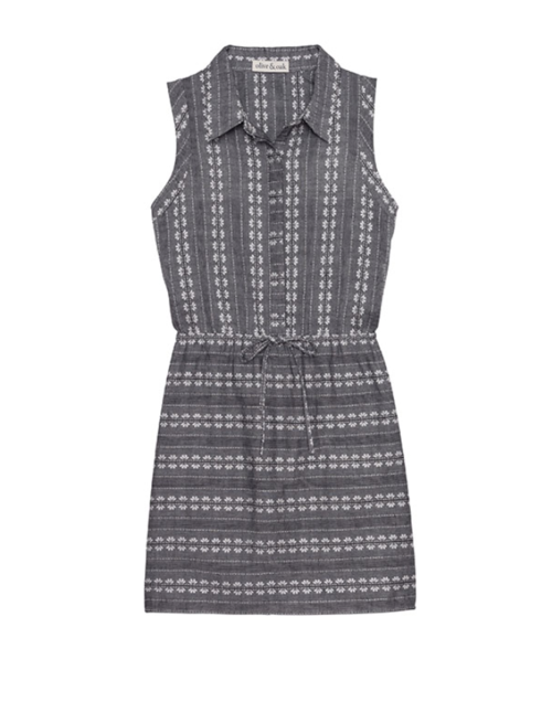 Daisy Cotton Jacquard Dress