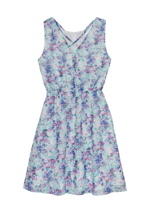 Kaleidoscope Strappy Dress