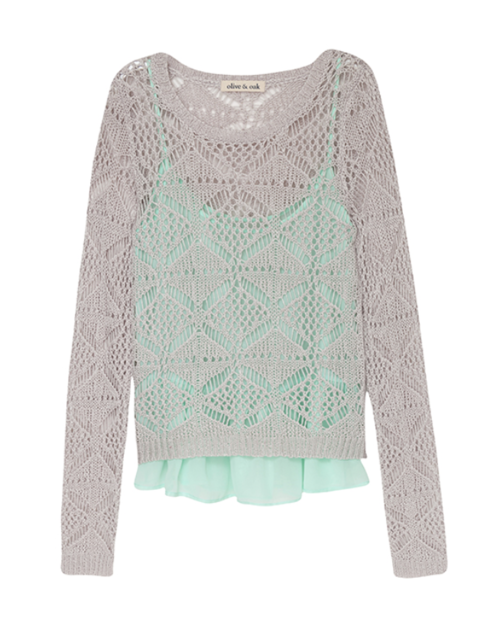 Crochet Sweater & Cami