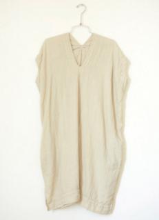 Atelier Delphine Crescent Dress - Oyster