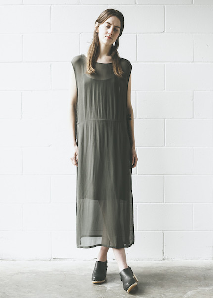 Lacausa - Tie Dress in Root