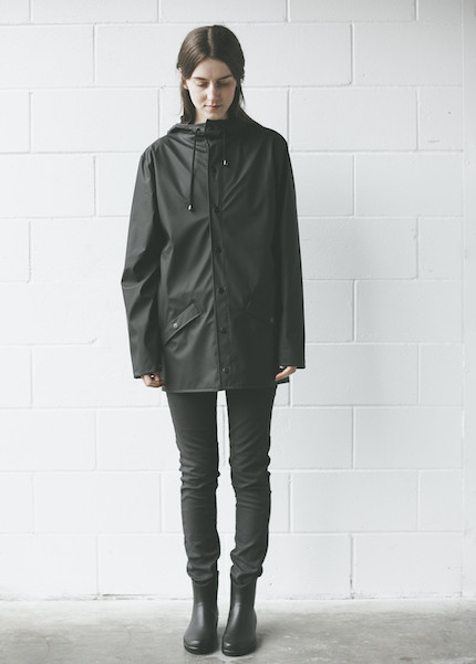 Rains - Jacket in Black