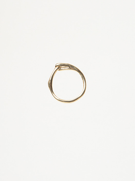 Ladyluna Knot Ring in Bronze