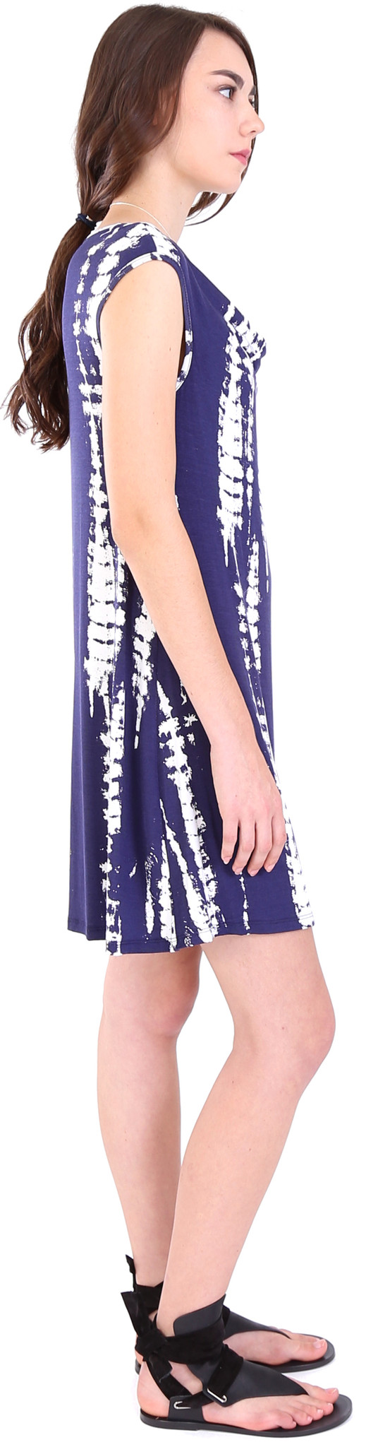 Michael Farrell Tie Dye Dress