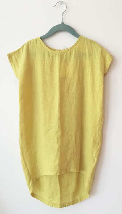 Black Crane Kids Cocoon Dress - Green
