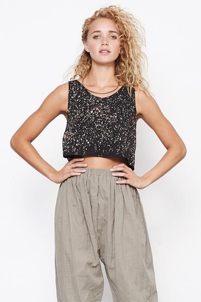 Mary Meyer Crop Tank - Galaxy