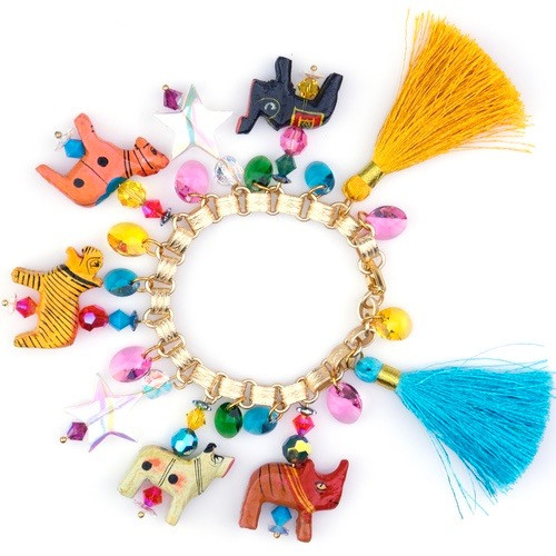 SJO Jewelry kanha charm bracelet