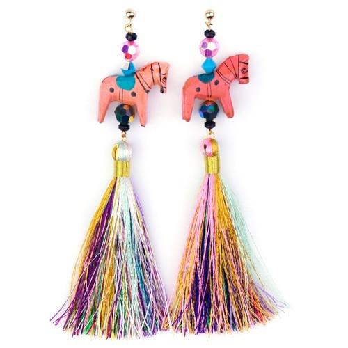 SJO Jewelry pushkar pony earrings