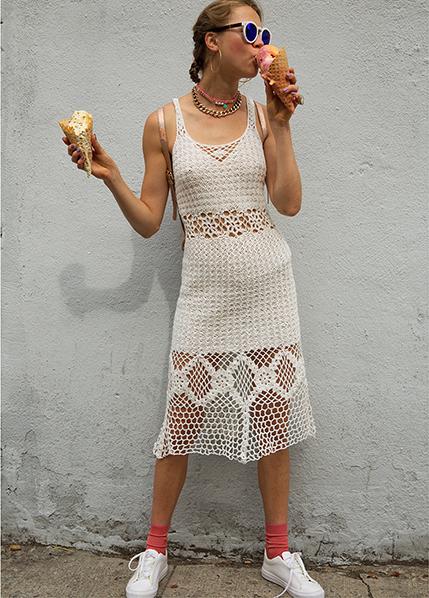 HARARE Crochet Long Dress (more colors!)