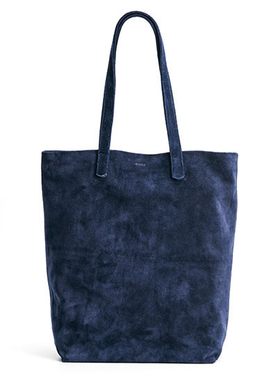 Basic Tote Midnight Suede
