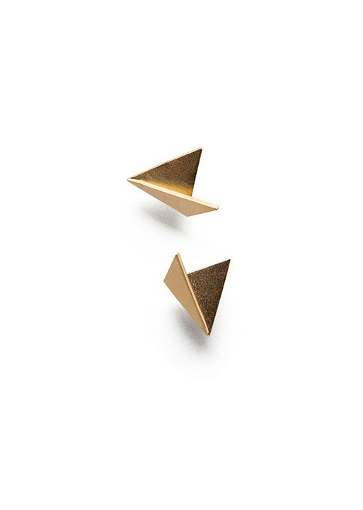 MAU JEWELRY Mini Fold Stud