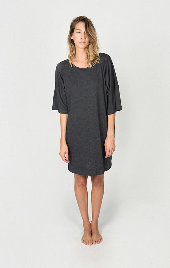 Ilana Kohn Persimmon Jersey Tee Dress