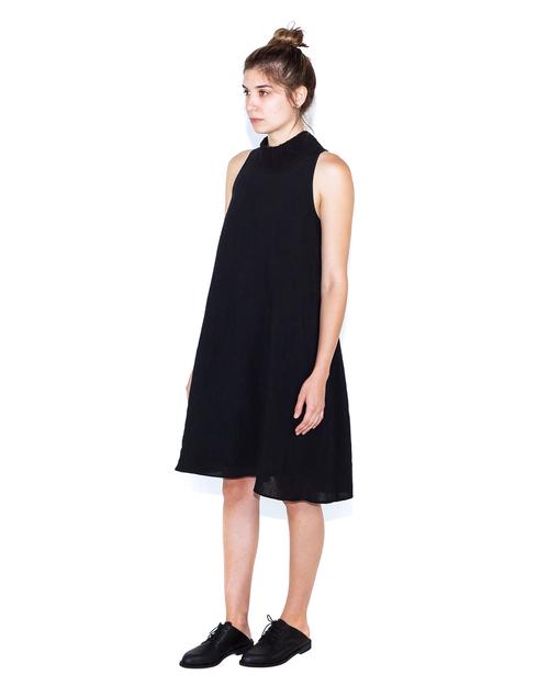 Correll Correll Rolli Neck Linen Dress