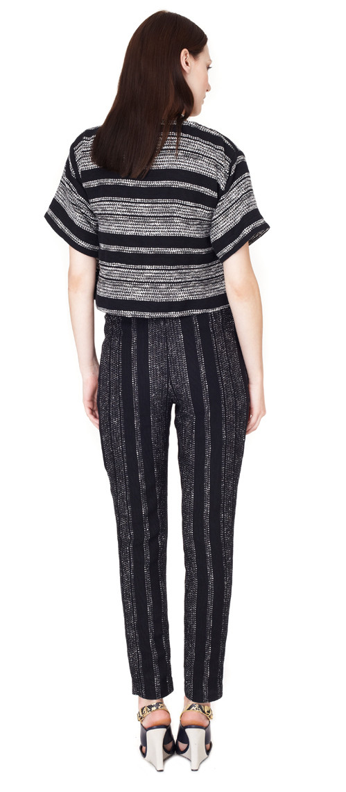 Apiece Apart - Luca Trousers in Lezat Stripe Print