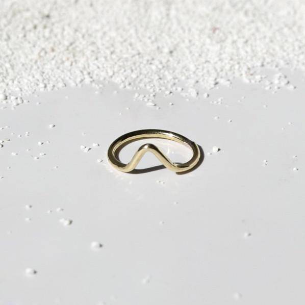 V Brass Ring J16