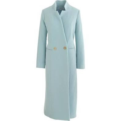 Apiece Apart - Powder Blue Esta Double-Breasted Coat
