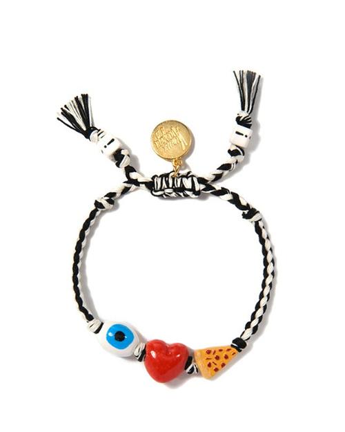 Venessa Arizaga I Heart Pizza Bracelet