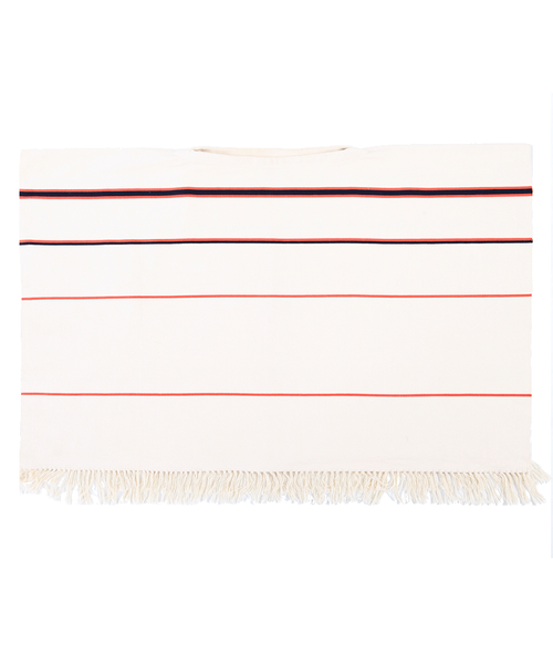 Stick & Ball Ombre Stripe Poncho