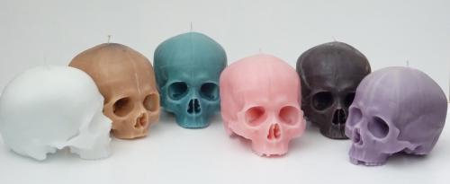 7 on Locust Skull Candle