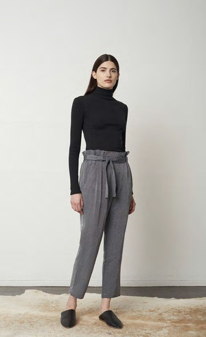Where Mountains Meet Wool/Silk Rockwell Pants with Tie