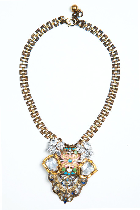Lulu Frost - 50 Year Necklace with French Enamel