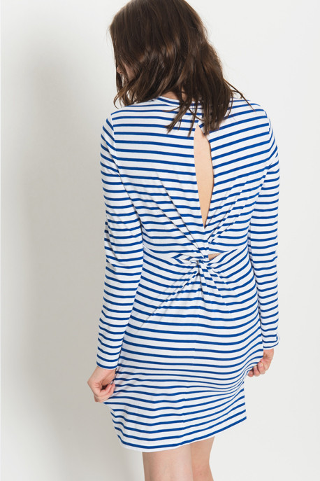 A.L.C. - Fay Dress in Blue Stripe