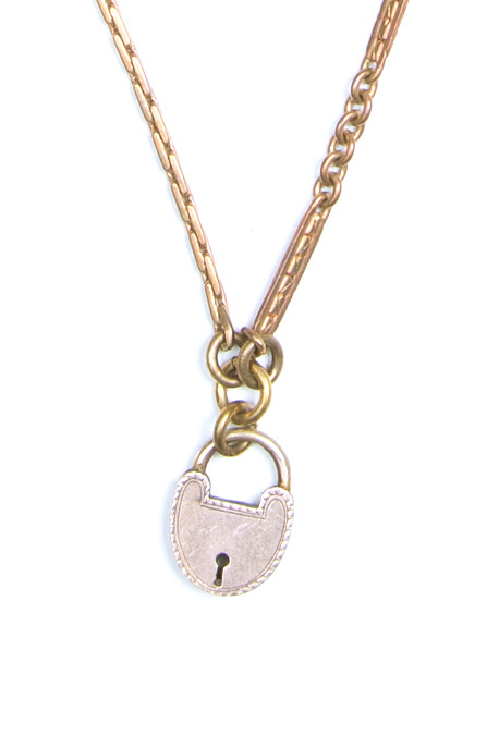 Lulu Frost - One Point Vintage Lock Necklace