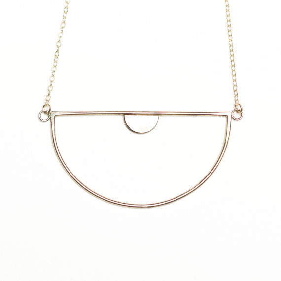 Luna Nu Necklace- Gold