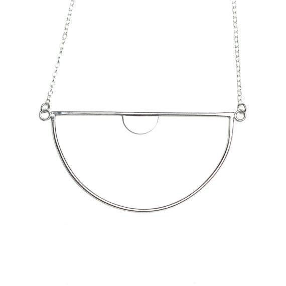 Luna Nu Necklace- Silver