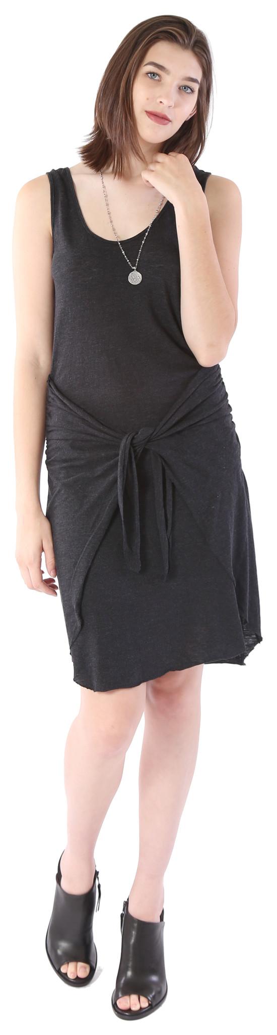 Lanston Tie Front Dress