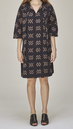 Ace & Jig Beatrice Dress / Black Sampler
