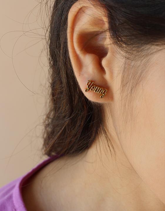 Bing Bang Young Money Earrings