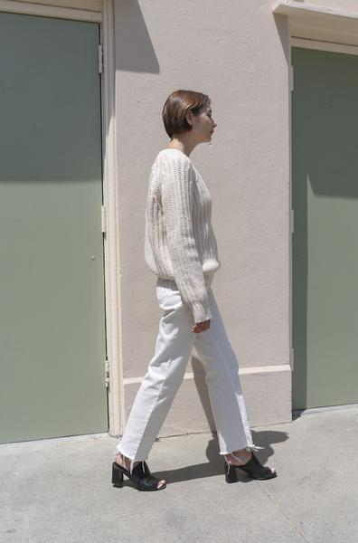 Rachel Comey Slim Legion Pant in Dirty White