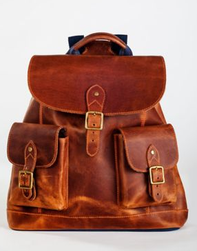 Pendleton Leather Rucksack