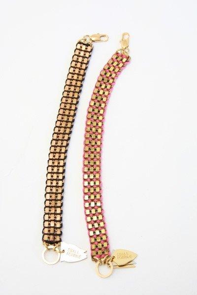 Lizzie Fortunato Disco Bracelet
