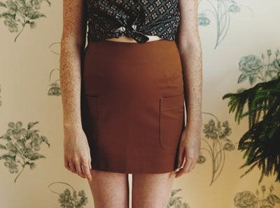Betina Lou Barbara Skirt (Hazelnut)