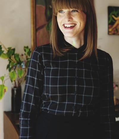 Betina Lou Jess Shirt (Black & Ivory)