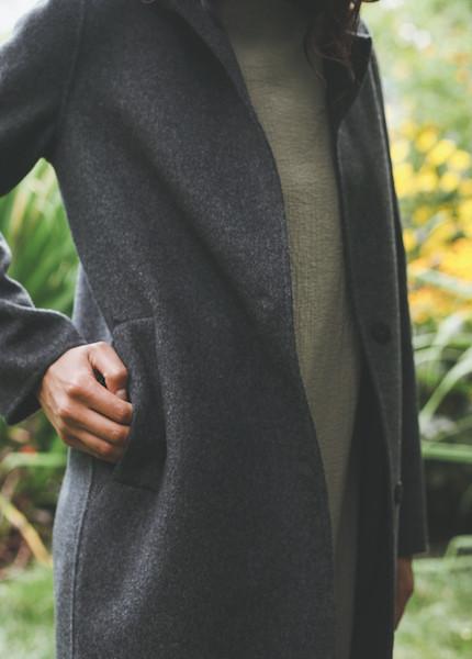 Line Knitwear - Clara in Charcoal