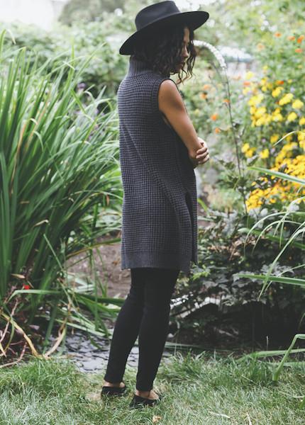 Line Knitwear - Malcom in Charcoal