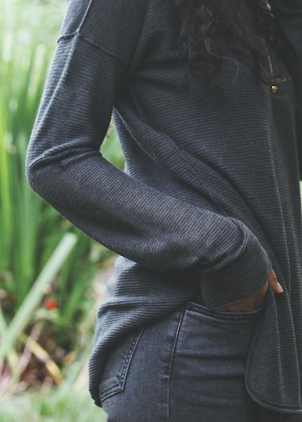 Line Knitwear - Lionel in Charcoal