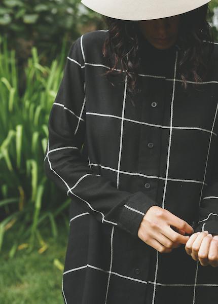 Line Knitwear - Tatum in Raven