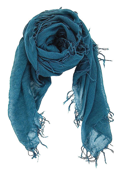 Chan Luu - Cashmere & Silk Direct Blue Scarf