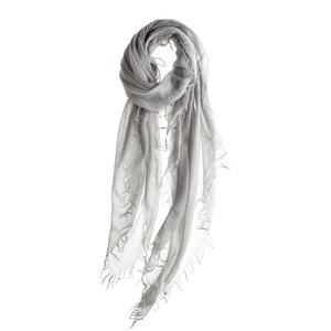Chan Luu - Glacier Gray Cashmere/Silk Scarf