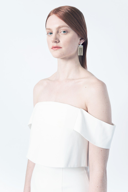 Natalie Joy - T Line Earrings