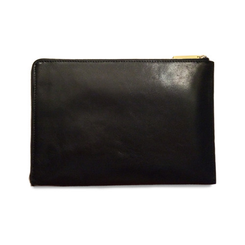 Eayrslee - Harper Clutch in Black Snake