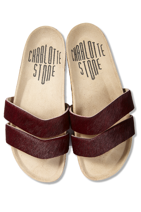 Charlotte Stone - Alice Sandal Red Pony