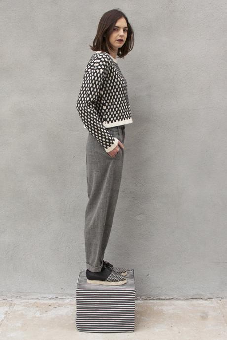 Study NY - Honeycomb Sweater