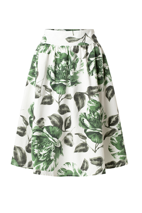 Ganni - Huntington Canvas Skirt