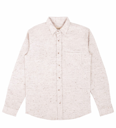 Men's Mollusk One Pocket Shirt / Tan Nubs